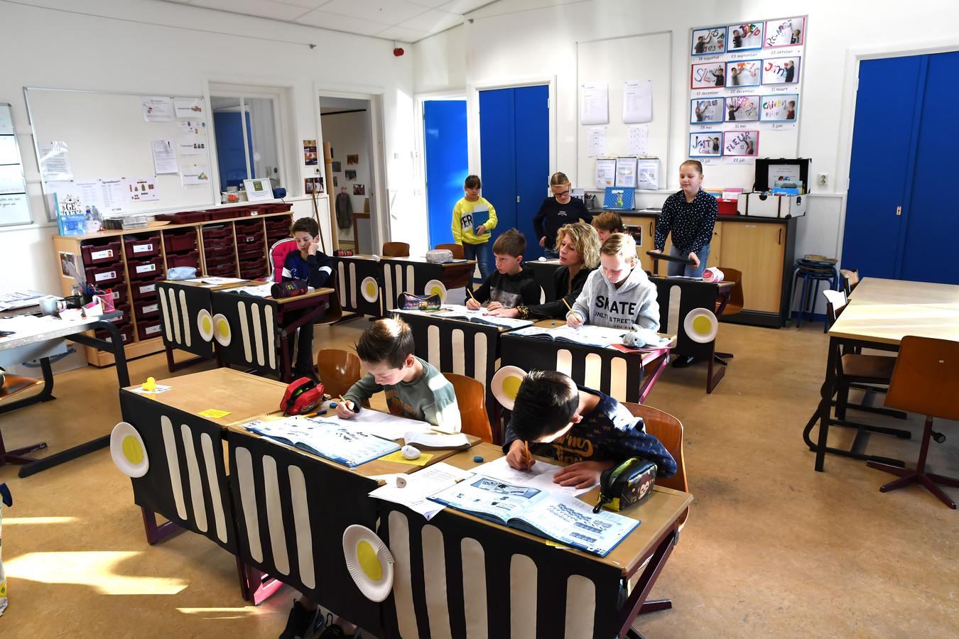 Basisschool De Start in De Moer heeft per 1 oktober 23 leerlingen en voldoet daarmee aan de minimale eis.