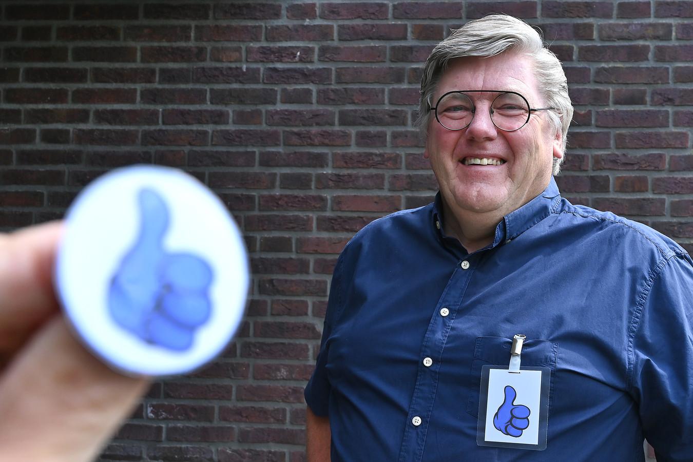 Ben Peters, bedenker van de blauwe duim