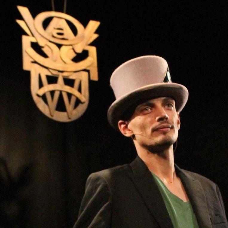 Comedian Manu Moreau