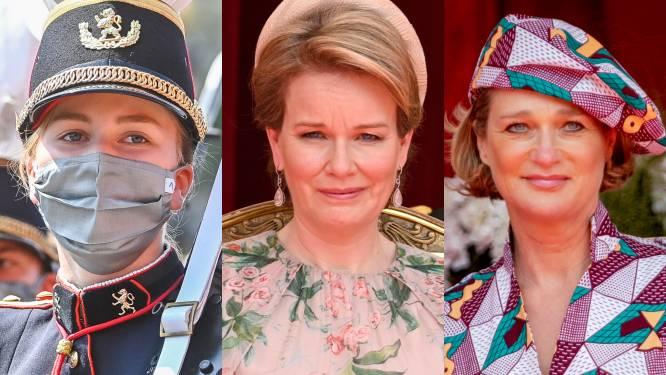 Een dappere Elisabeth, ontroering bij Mathilde en de 'verborgen' boodschap van Delphine: zo verliep de nationale feestdag