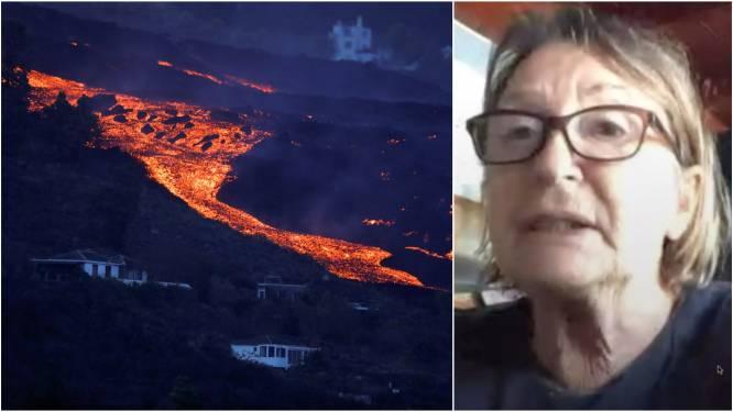 """Ingrids huis ligt bedolven onder de lava op La Palma, zoon start crowdfunding: """"Ik ben alles kwijt en moet op mijn 69ste volledig herbeginnen"""""""