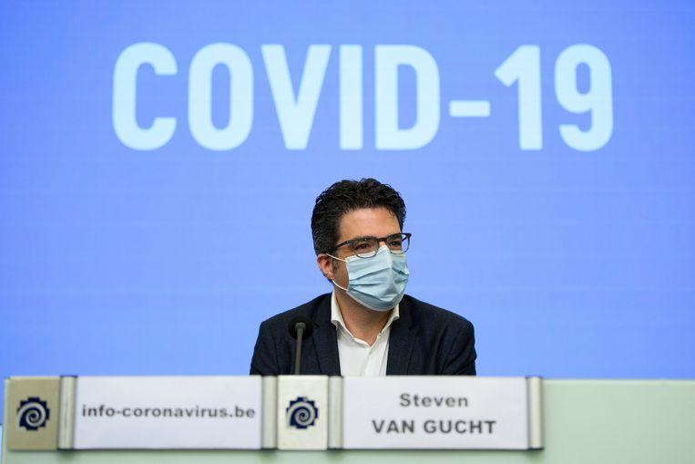 Viroloog Steven Van Gucht. Beeld Photo News
