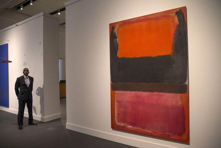 Een werk van Mark Rothko. Beeld reuters