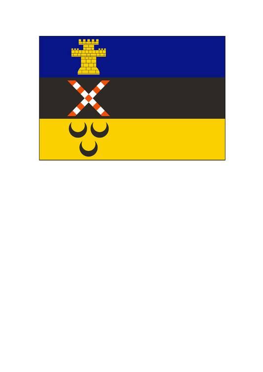De nieuwe gemeentevlag van Meierijstad.