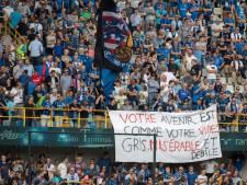 Banderole polémique: le Club de Bruges s'excuse