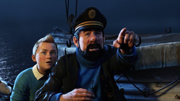 The Adventures of Tintin van Steven Spielberg. Beeld