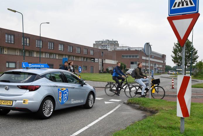 De gemeente laat medio 2020 een kentekenonderzoek uitvoeren op de Steinhagenseweg.