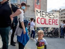 """Des mères en colère manifestent à Bruxelles: """"Stop aux violences policières sur nos enfants"""""""