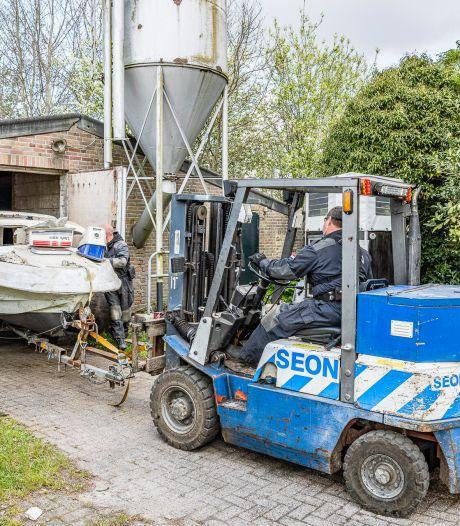 Politie ontdekt verstopt mdma-lab bij een loods in Tilburg, eigenaar aangehouden
