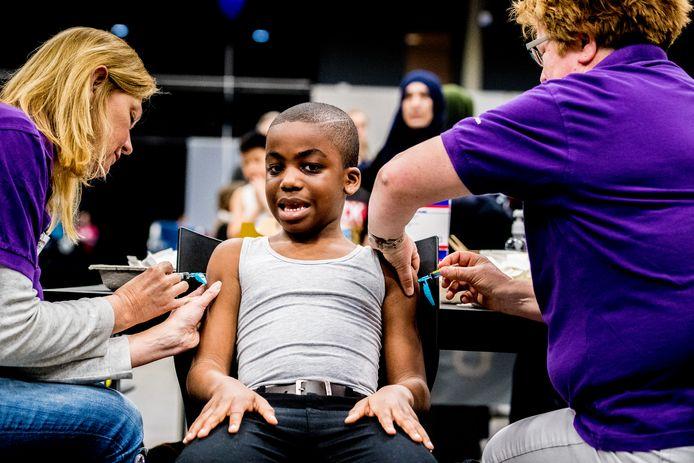 Het percentage volledig ingeënte kinderen nam in 2020 toe ten opzichte van 2019, ook in de meeste gemeenten in ons verspreidinggebeid.
