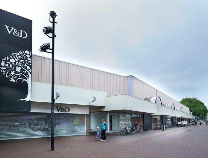De voormalige V&D-winkel in Oss maakt deel uit van het Walkwartier.