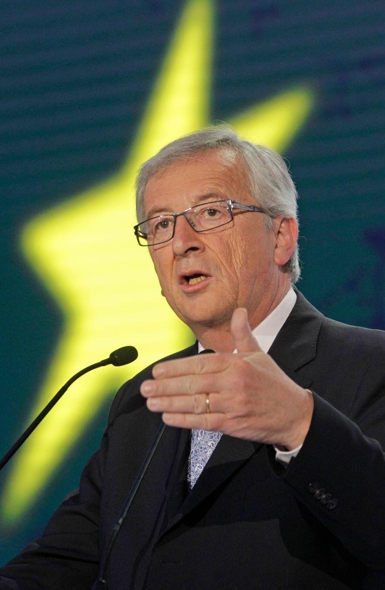 Jean-Claude Juncker. Beeld AP