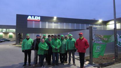 Staking bij Aldi Roeselare: twee vestigingen gesloten en piket aan depot