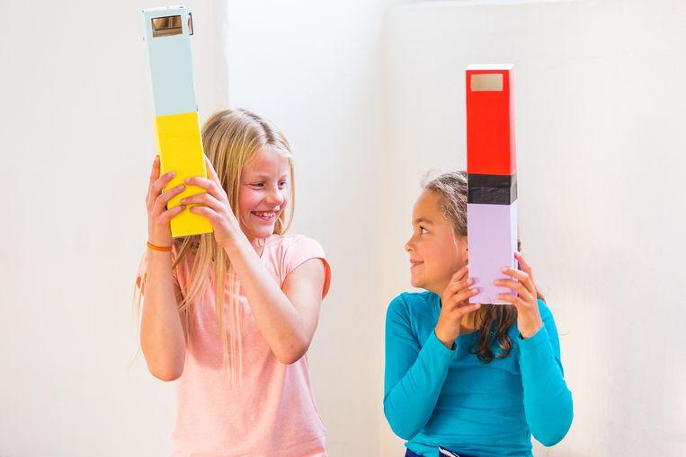 Kids Vakantiewerkplaats Scheepvaartmuseum. Beeld Igor Roelofsen