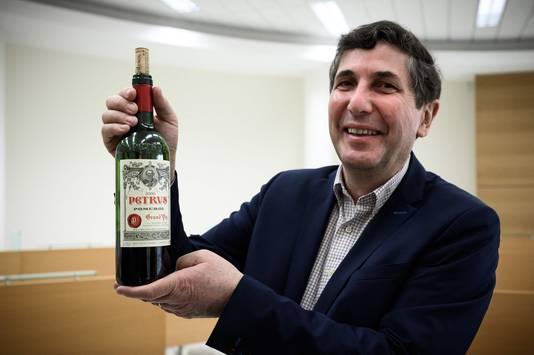 Philippe Darriet, directeur de l'unité de recherche oenologie à l'ISVV