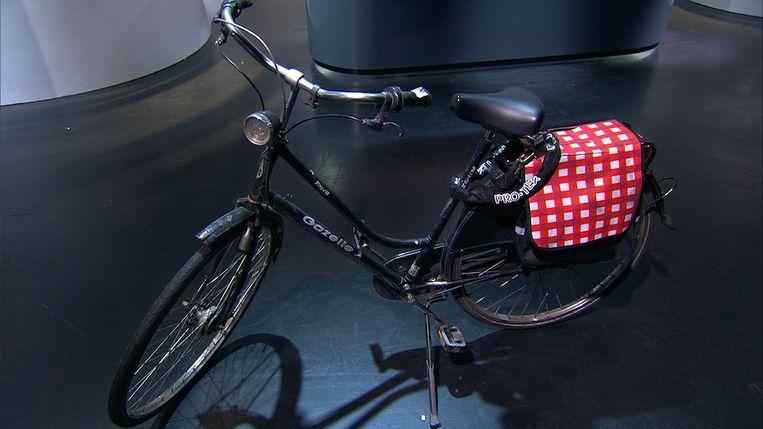 De fiets van de verdachte Beeld Politie