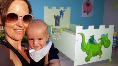 """""""Overweldigend"""": mama Leen vindt dankzij oproep op HLN.be kinderbedje terug dat overleden papa beschilderde"""