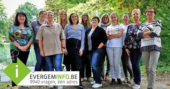 Het team van Evergem Info