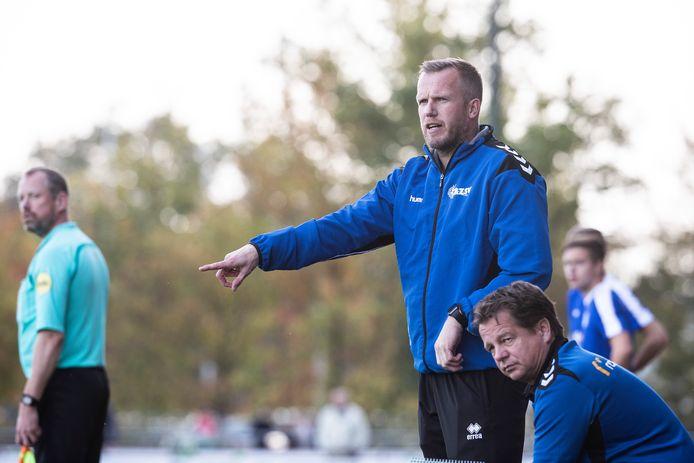 Dave de Jong blijft trainer van AZSV.