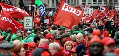 Les syndicats réclament une hausse des salaires: plusieurs actions menées en province de Liège