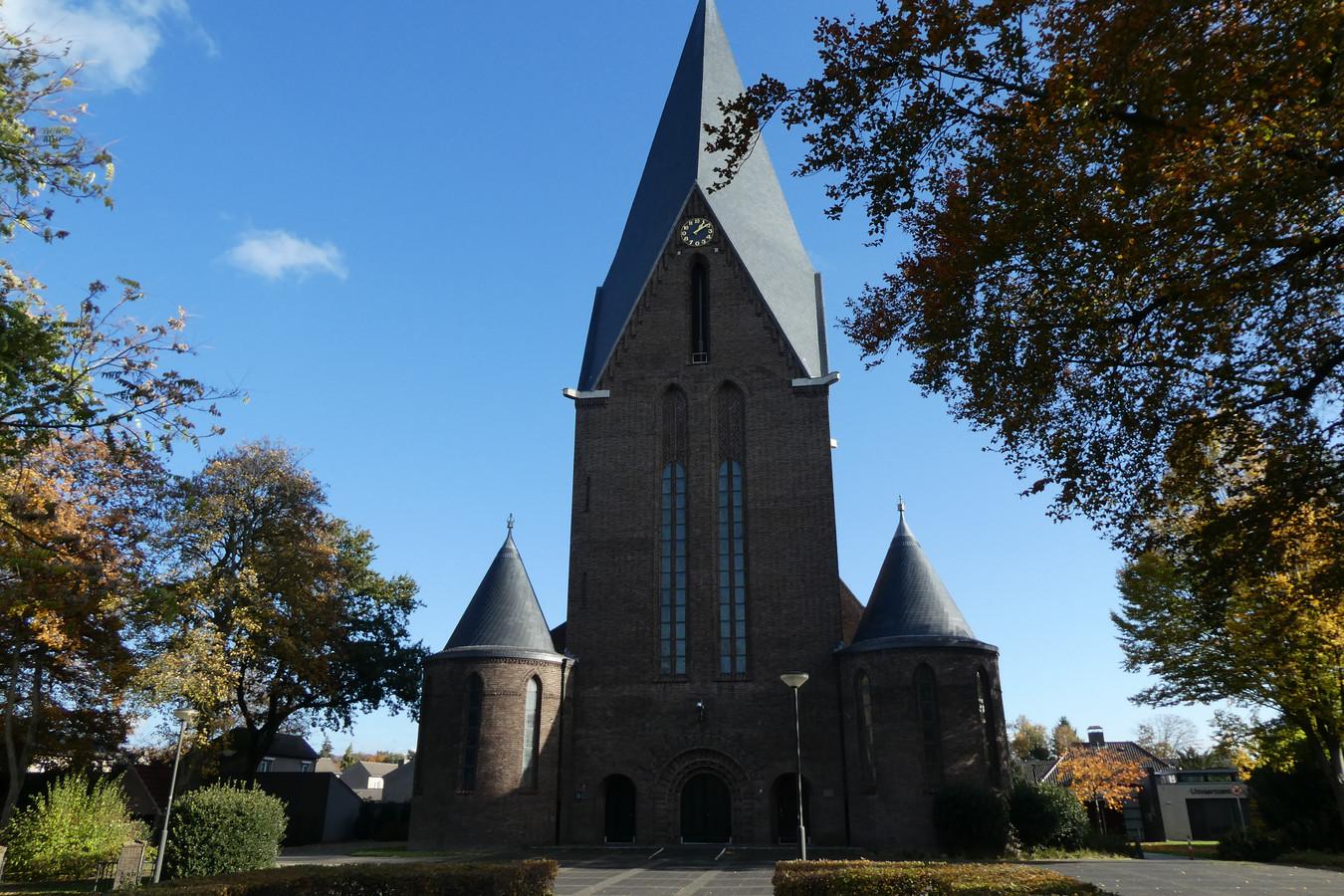 De Michaëlkerk in Sint-Michielsgestel wordt op 9 maart een middag gebruikt als priklocatie voor Huisartsenpraktijk Van Eunen.