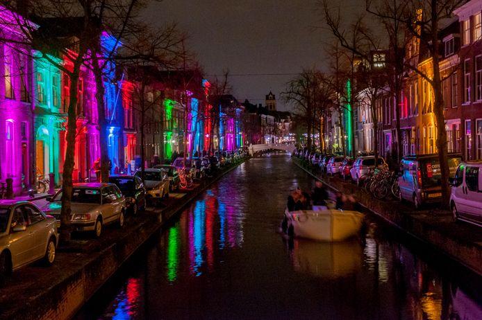 lichtjesfeest in Delft