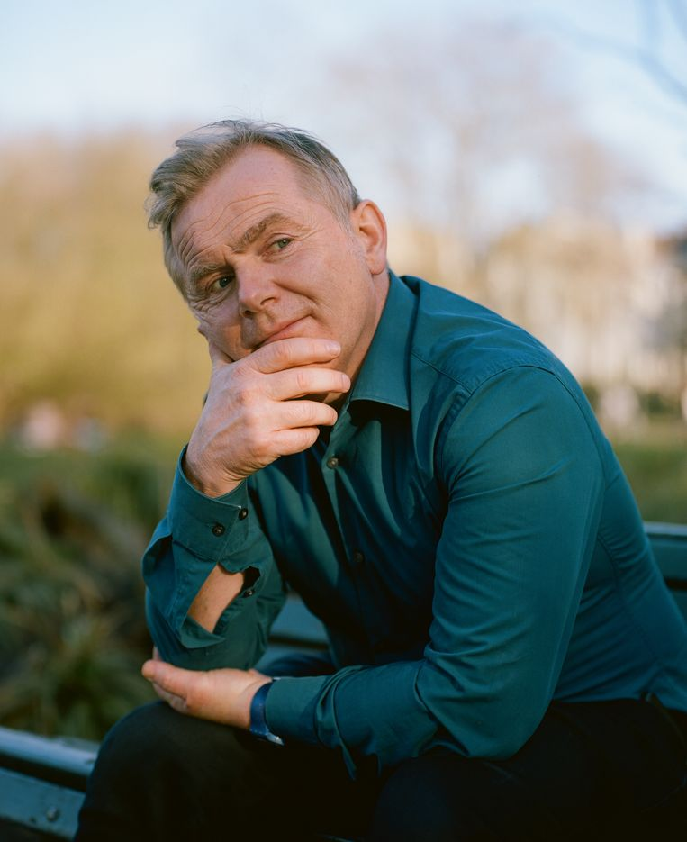 Niek Barendsen, bedenker, schrijver en regisseur van 'Nieuw zeer'. Beeld Jonna Bruinsma