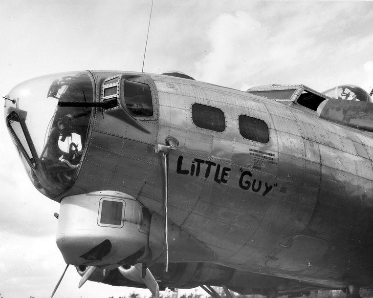 De B17, bijgenaamd Little Guy.  Beeld American Air museum