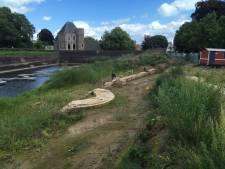 Oud-Gorcum eist dat middeleeuwse muur zichtbaar blijft