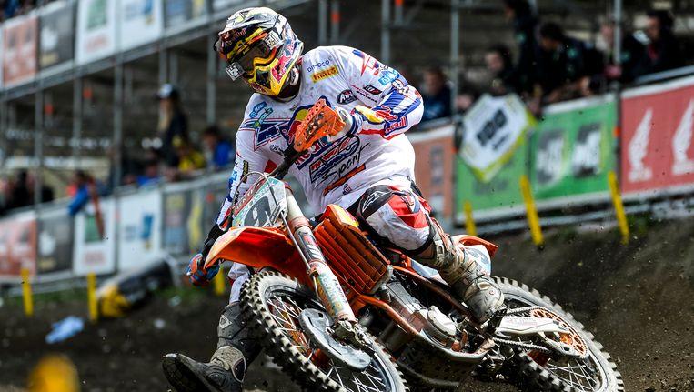 Voor Ken De Dycker is het zijn tweede Belgische titel. Beeld BELGA