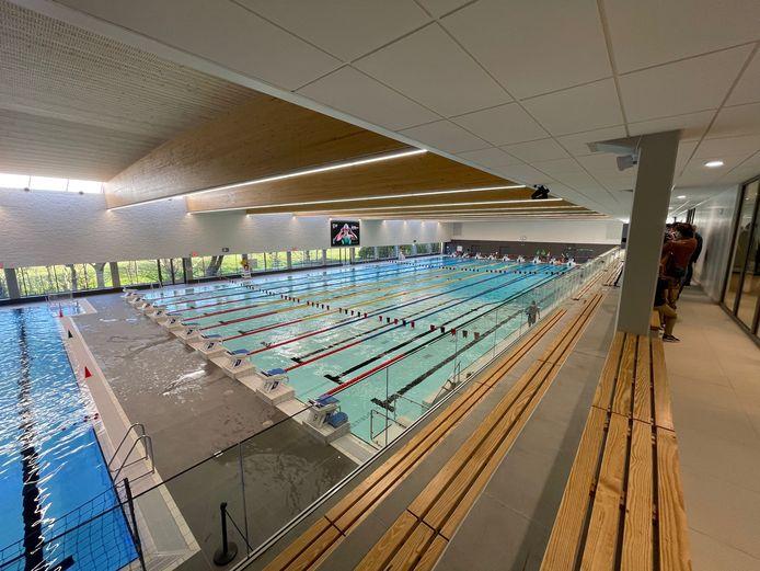 Het nieuwe zwembad Brigitte Becue in Oostende is geopend