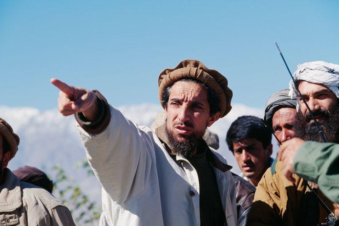 Verzetsheld Ahmad Shah Massoud, archiefbeeld.