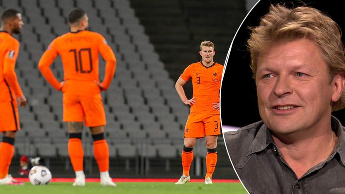 Youri Mulder is hard voor het Nederlands elftal.