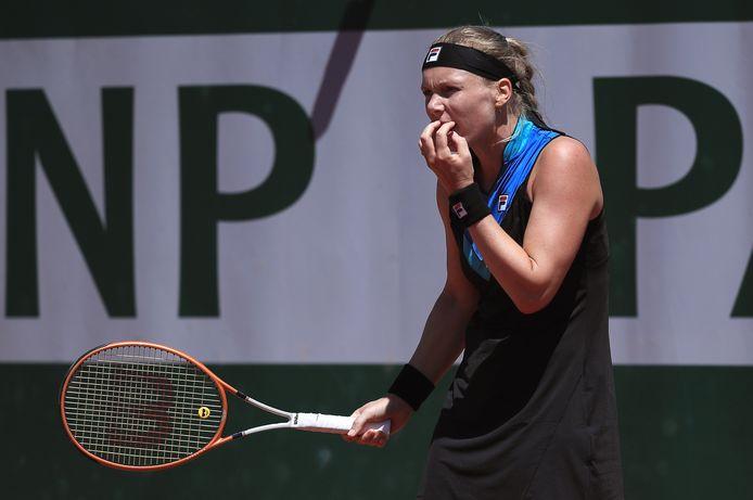 Bij de laatste editie van Roland Garros wilde het ook niet lukken voor Kiki Bertens.