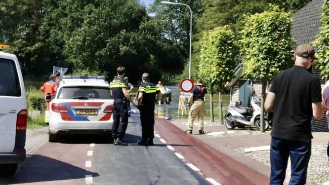 Drenkeling gered uit de Maas bij Bergen, massale inzet hulpdiensten