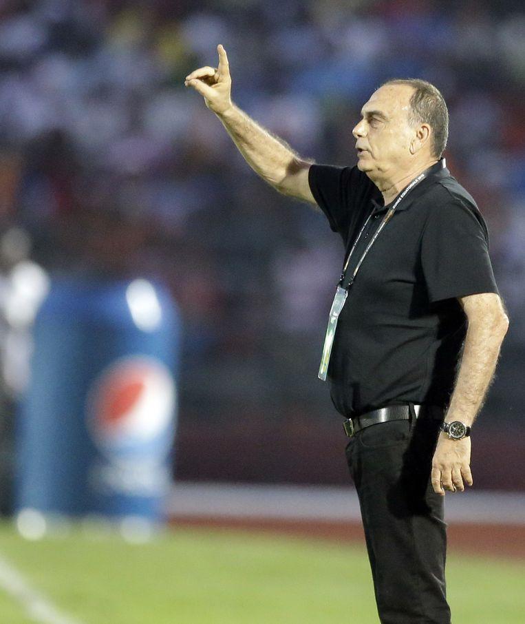 Ghana wordt getraind door de Israëli Avram Grant, ex-Chelsea. Beeld AP