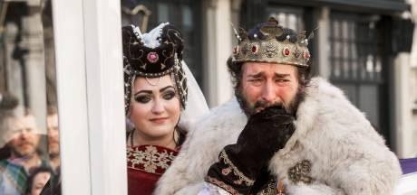 Lintje en eretocht voor ernstig zieke 'King' Cor Vermeulen: 'Nu ben ik echt een ridder'