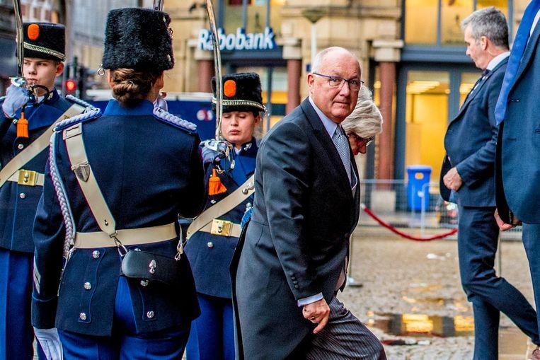 De ambassadeur van de Verenigde Staten Peter Hoekstra. Beeld anp