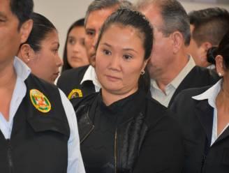Peruaanse oppositieleidster Fujimori vliegt voor 36 maanden in de cel