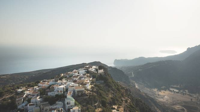 Reeks aardbevingen doet Grieks vulkanisch eiland Nisyros beven