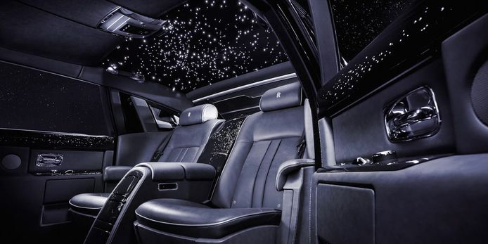 Rolls-Royce sterrenhemel