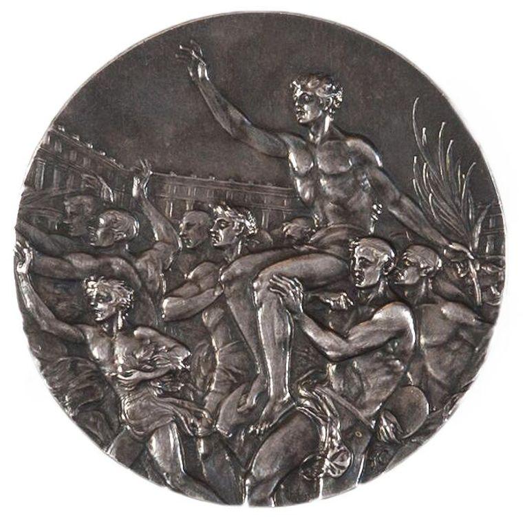 Zilveren medaille Beeld Daniel Rommens