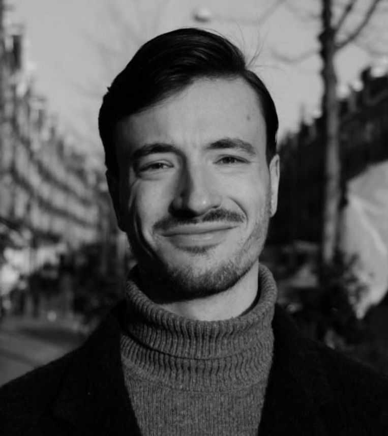 Bastiaan Minderhoud is stadsdeelcommissielid Amsterdam-Oost namens de PvdA. Beeld -