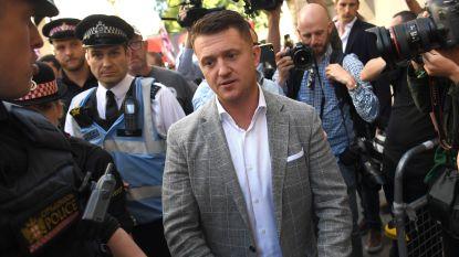 Britse extreemrechtse leider Tommy Robinson krijgt celstraf voor minachting gerecht