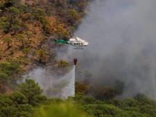 Bosbranden in Spanje 'onder controle' door regenval