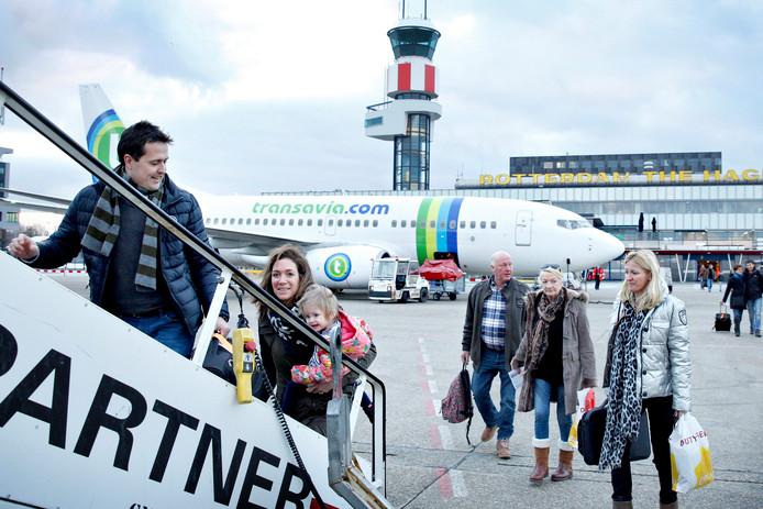 Gerichte actie kan draagkracht creëren voor extra vluchten op Rotterdam.