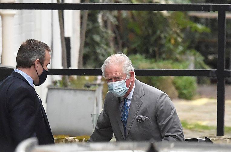Prins Charles heeft zijn vader inmiddels bezocht.  Beeld REUTERS