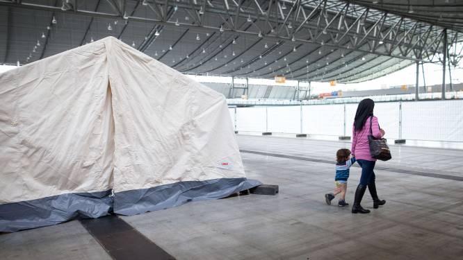 Asielzoekers bibberen in Duitsland