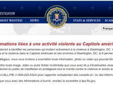 Le FBI lance un site web pour recueillir des indices relatifs à l'invasion du Capitole