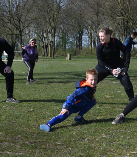 Sporten met het hele gezin
